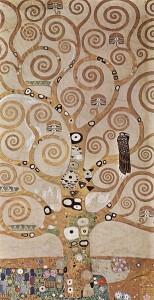 Fregio per il Palazzo Stoclet - L'albero della vita 1905-1909 (Fonte Wikipedia)