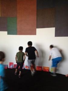 bambini in corsa