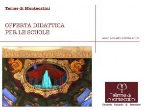 Terme di Montecatini Offerta didattica