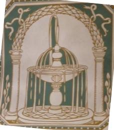 Immagine di una fontana nella Palazzina Regia - Montecatini Terme