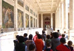 Visita alle Terme Tettuccio, Galleria della Mescita delle acque