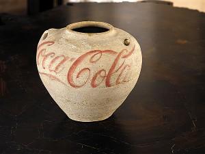 Vase with Coca-Cola Logo (2010)