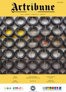 Artribune, rivista dedicata all'arte. Copertina dedicata a Geba