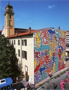 Keith Haring, Pisa, Tuttomondo