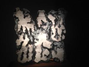 "Leoncillo ""Taglio bianco"" 1959 Terracotta smaltata engobbiata"